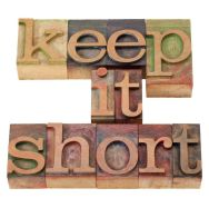 Keep your home page short