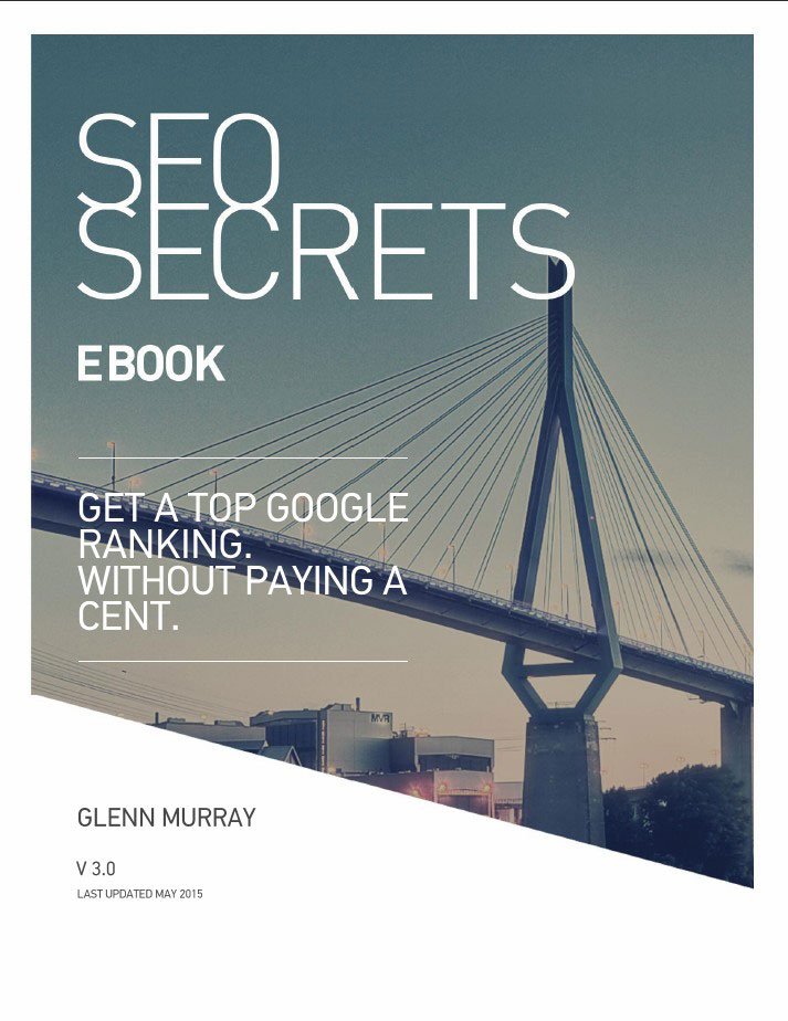 New SEO Secrets Ebook cover