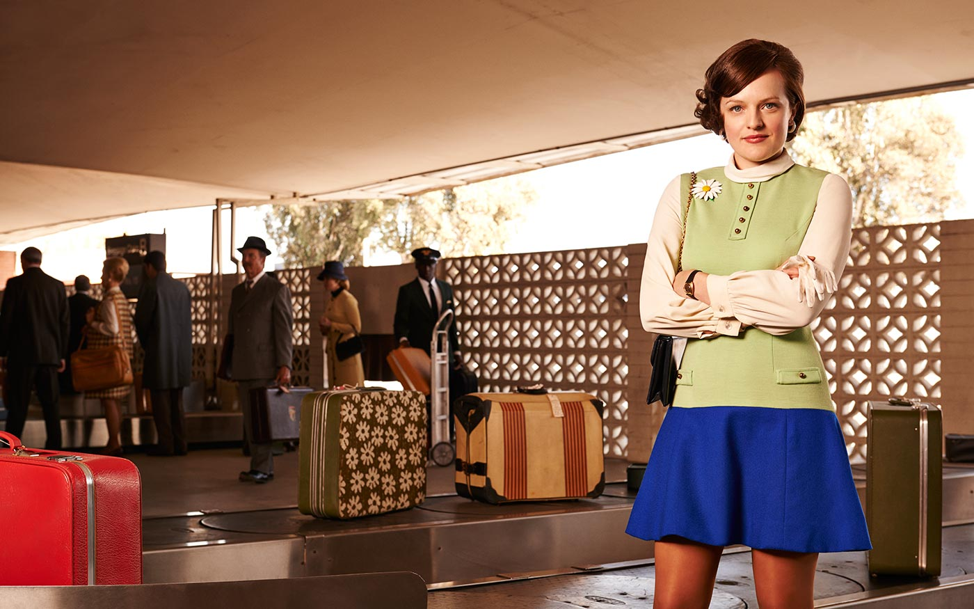 Peggy Olson was the real copywriter