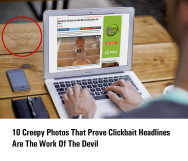 Feature image for clickbait headlines post