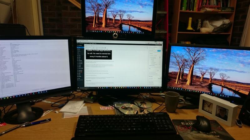 My old copywriting desk