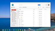 Google Drive on copywriter's Google Chromebook