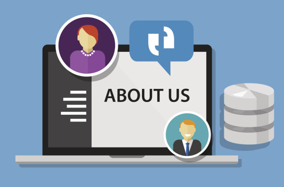 About Us Copywriting Post Feature Image