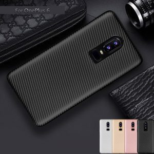 QYSFriday 'Carbon Fiber' TPU case for OnePlus 6