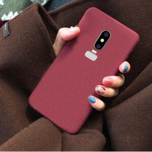 QYSFriday sandstone OnePlus 6 case
