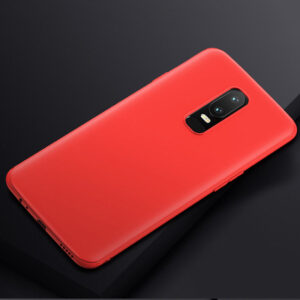 QYSFriday smooth matte TPU cases for OnePlus 6